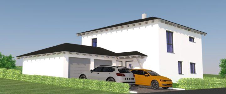 Einfamilienhaus mit Doppelgarage VERKAUFT